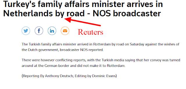 Οι ολλανδικές αρχές σταμάτησαν το αυτοκίνητο της Τουρκάλας υπουργού προτού πλησιάσει στο Ροτερνταμ;