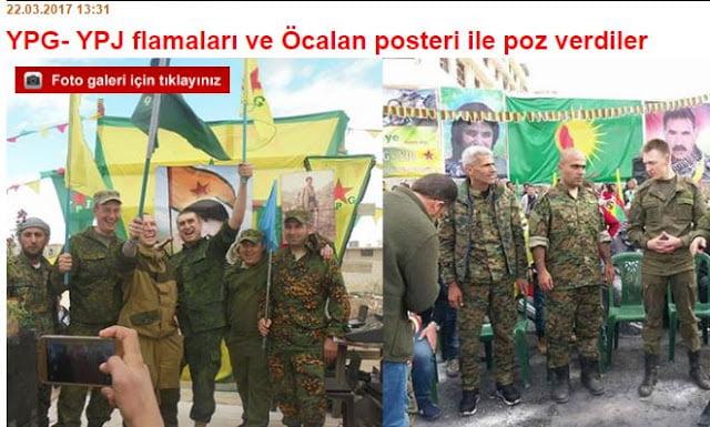 Τουρκία: «Ρώσοι στρατιώτες συμμετείχαν με τους Κούρδους στη Συρία στο γιορτασμό του Νεβρούζ»