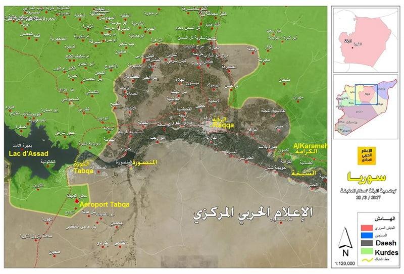 «Η Ράκκα θα είναι μέρος του κουρδικού σχεδίου για τη Συρία.» Οι SDS αναστείλουν την επίθεσή τους ενάντια στο φράγμα στον Ευφράτη