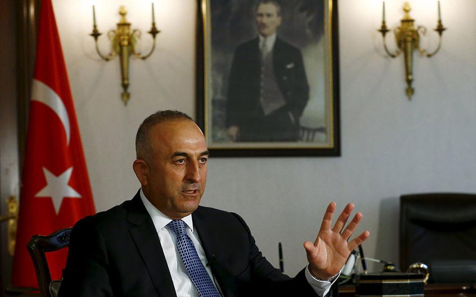 """Ο Τσαβούσουγλου αποκαλύπτει την """"ατζέντα"""" Ερντογάν: Ή θα μας αποδεχτείτε όπως θέλουμε εμείς, ή θα έχουμε «ιερούς πολέμους» στην Ευρώπη"""