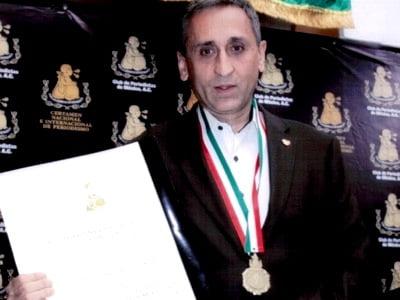 Το Διεθνές Βραβείο Δημοσιογραφίας του Μεξικού απονεμήθηκε στον Τιερί Μεϊσάν