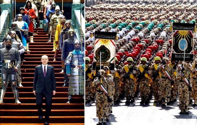 Ζούμε μια τρέλα: Οι Τούρκοι θέλουν να αναβιώσουν την Οθωμανική και οι Ιρανοί την Περσική Αυτοκρατορία
