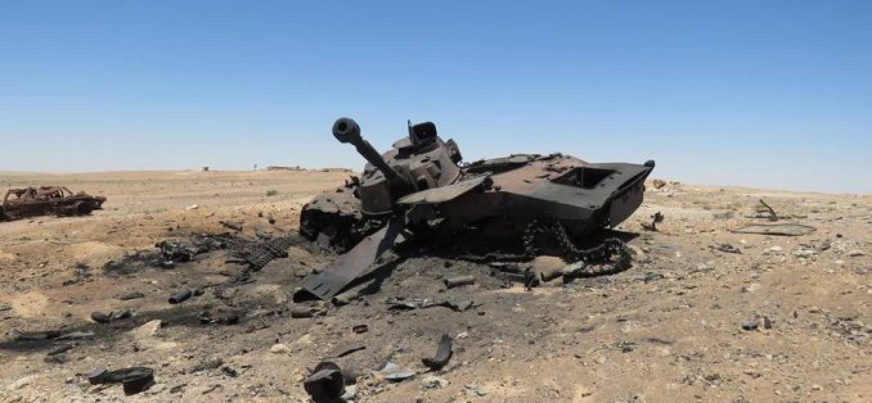 Συρία: Η πτώση της τακτικής στην αλ-Τανφ