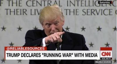 Ο Ντόναλντ Τραμπ ενώπιον της «τέταρτης εξουσίας»