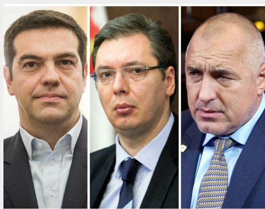 Τριμερής συνάντηση Τσίπρα- Βούτσιτς-Μπορίσοφ στη Θεσσαλονίκη- Σχέσεις με Σκόπια