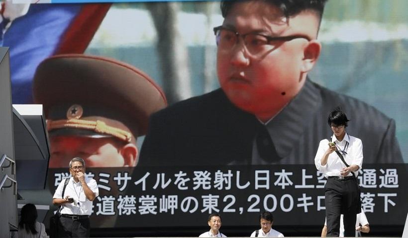 Η Βόρεια Κορέα εκτόξευσε νέο πύραυλο πάνω από την Ιαπωνία