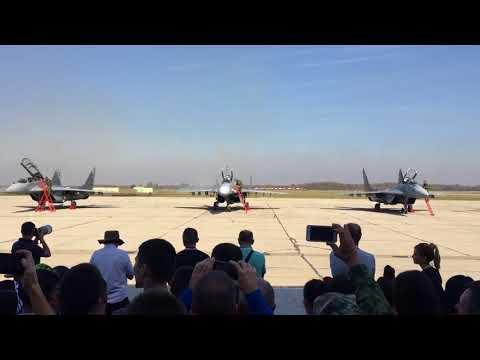 Έξι αεροσκάφη MIG-29 παρέδωσε η Ρωσία στη Σερβία – Ακολουθούν τα αντιαεροπορικά «BUK-M2» και «PANTSIR-S1» (βίντεο)
