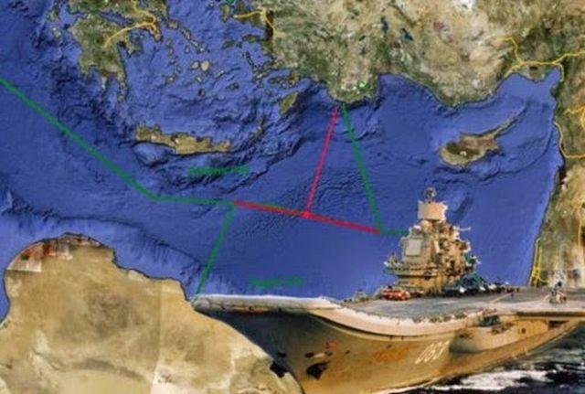 Γεωπολιτικό ματ – Οριοθέτηση ΑΟΖ με την Αίγυπτο