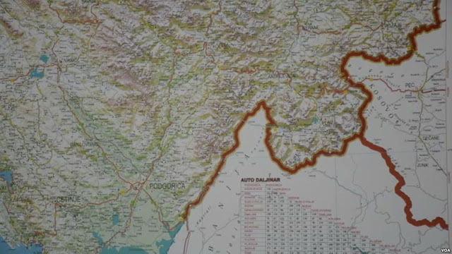 Συνοριακές διαφορές Κοσσυφοπεδίου- Μαυροβουνίου- Αμερικανική Εμπλοκή