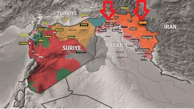 Η Τουρκία προετοιμάζει επιχείρηση εναντίον του ΡΚΚ στο Σιντζάρ και το όρος Κανδήλι;