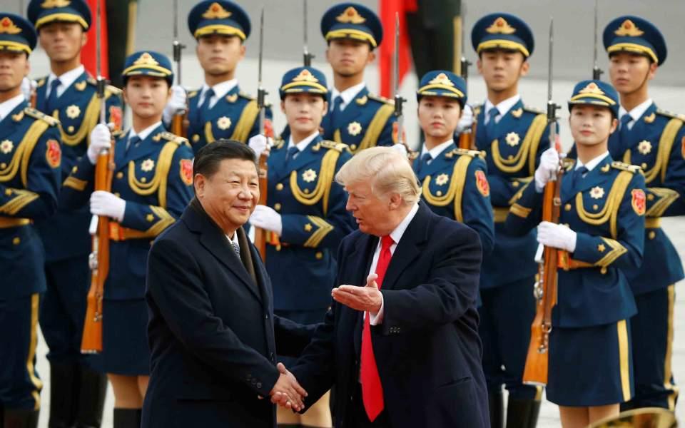 Τραμπ: «Καλώ την Κίνα να εργαστεί σκληρά» για το θέμα της Β. Κορέας