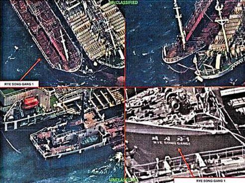 Δορυφόροι των ΗΠΑ εντόπισαν παράνομη πώληση πετρελαίου από την Κίνα στη Βόρειο Κορέα