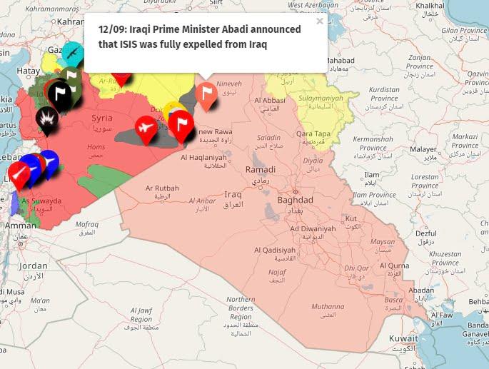 Το Τέλος του Πολέμου με το Ισλαμικό Κράτος Κήρυξε ο Ιρακινός Πρωθυπουργός