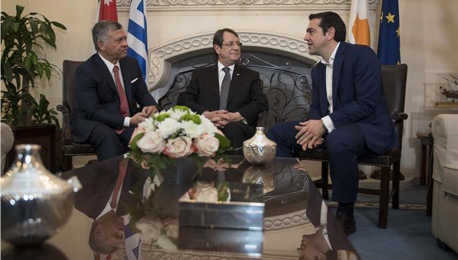 Ελλάδα – Κύπρος – Ιορδανία: Πυλώνες σταθερότητας και ασφάλειας