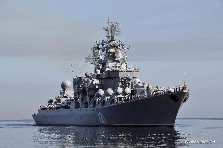 Άνοιγμα Λιμένων του Λιβάνου στα Ρωσικά Πολεμικά Σκάφη
