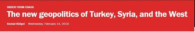 Η νέα γεωπολιτική της Τουρκίας, της Συρίας και της Δύσης