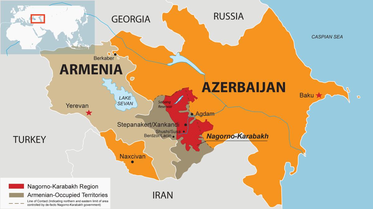 """Το """"Ξεπάγωμα"""" Της Διένεξης Nagorno-Karabakh"""