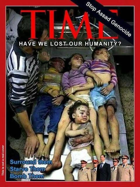 Να σταματήσουμε τη Γενοκτονία του Άσαντ!
