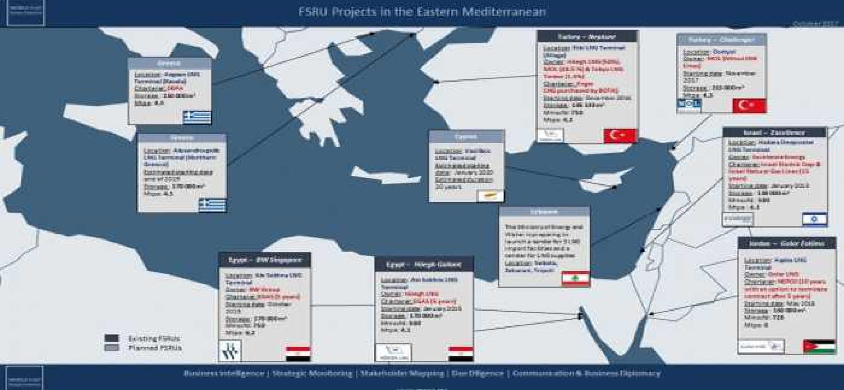 Φυσικό αέριο στην Ανατολική Μεσόγειο: Η Αίγυπτος κυρίαρχη του παιχνιδιού