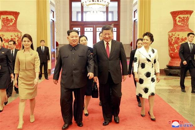 Ραγδαίες οι εξελίξεις στην βορεοκορεατική χερσόνησο μετά το μυστικό ταξίδι Κιμ στο Πεκίνο