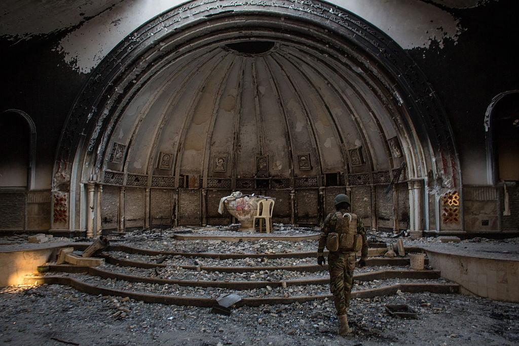 """Ογδόντα τοις εκατό των χριστιανών του Ιράκ """"εξαφανίστηκαν"""""""