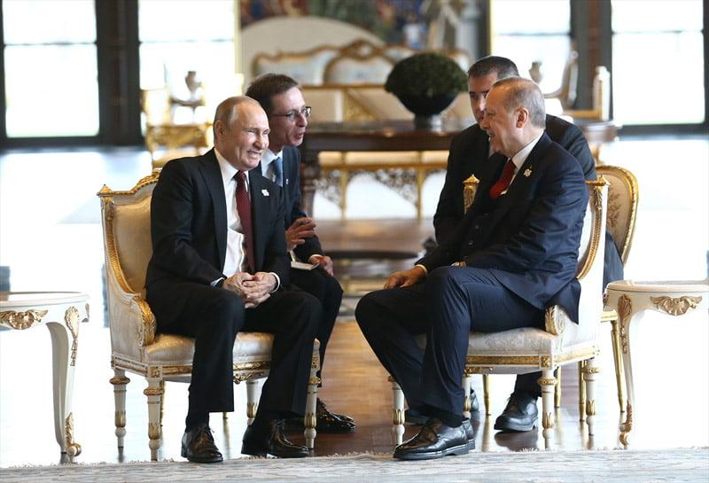Πούτιν και Ερντογάν θεμελίωσαν τον πυρηνικό σταθμό στο Άκουγιου της Μερσίνας