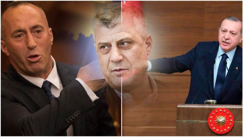 """Κόσοβο: Προκαλεί """"εμφύλιο"""" ο Ερντογάν """"καρφώνοντας"""" τον συνεργάτη!"""