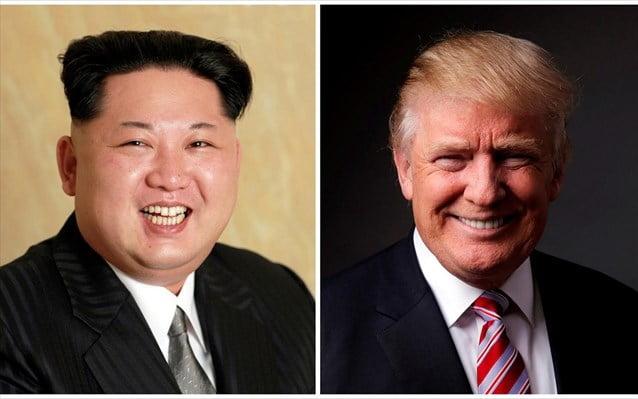 Tραμπ: Εντός των ερχόμενων εβδομάδων η συνάντηση με Κιμ Γιονγκ Ουν