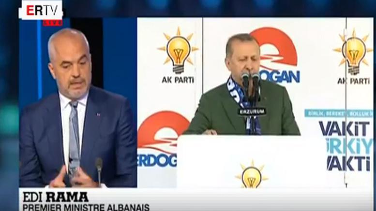 Σε συνέντευξη στο France 24/ Ο Ράμα αγνοεί τον Ερντογάν όταν επισκέπτεται τη Δύση