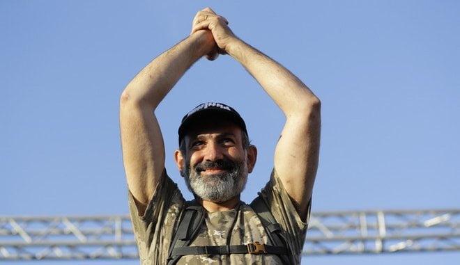 Αρμενία: Ο Νικόλ Πασινιάν νέος Πρωθυπουργός της χώρας