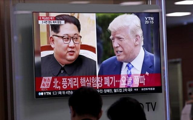 ΗΠΑ: Η σύνοδος Τραμπ-Κιμ ακυρώθηκε λόγω αθέτησης υποσχέσεων από τη Β. Κορέα