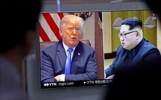Washington Post: Αμερικανοί αξιωματούχοι βρίσκονται στη Β. Κορέα για την προετοιμασία της συνάντησης Τραμπ – Κιμ