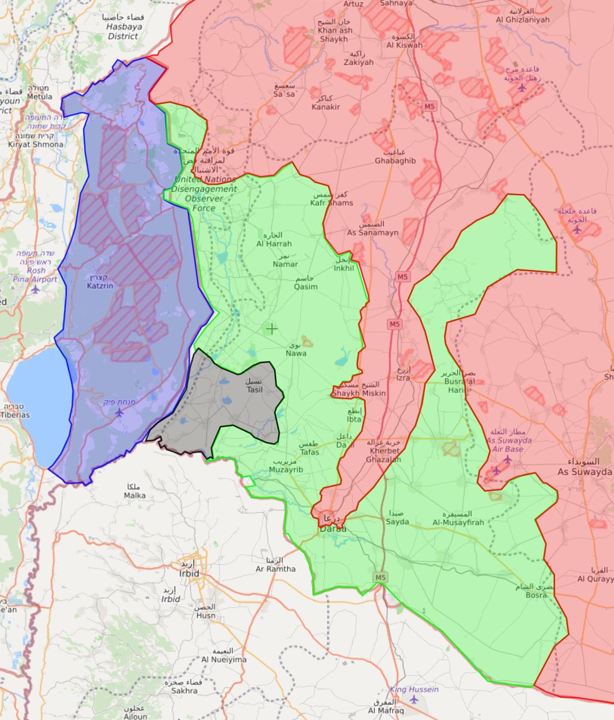 Συρία – έτοιμη να ξεκινήσει η εκστρατεία της Νταραά