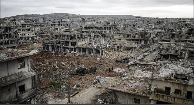 Δεν θα πιστεύετε στα μάτια σας – Δείτε πώς ήταν το Κομπάνι που το κατέστρεψαν οι Τούρκοι και οι τζιχαντιστές και πώς είναι σήμερα