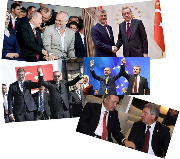 «Αυξάνεται επικίνδυνα η επιρροή της Τουρκίας στα Βαλκάνια»