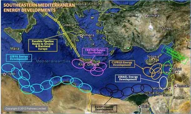Ξεκινά η εμπλοκή του Ισραήλ στην λαίλαπα της Ανατολικής Μεσογείου
