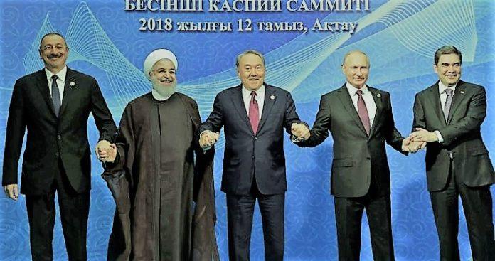 Η σκακιέρα της Ευρασίας και η κίνηση ματ Ρωσίας-Ιράν στην Κασπία