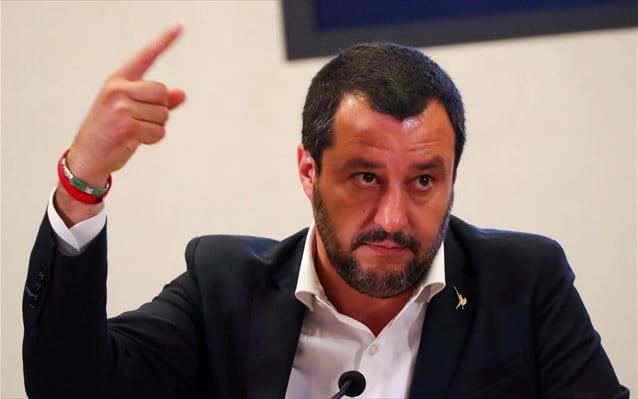 Ιταλία: Νέα προειδοποίηση Σαλβίνι για τους μετανάστες – Απειλεί να τους στέλνει πίσω στη Λιβύη