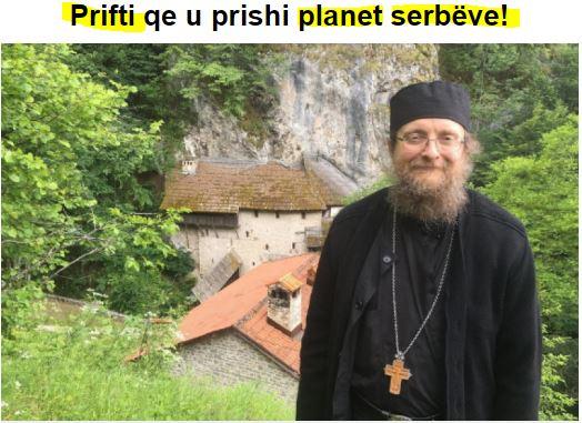 Απίστευτο: Ένας Ορθόδοξος ιερέας δημιούργησε πανικό στο Κοσσυφοπέδιο και Σερβία!