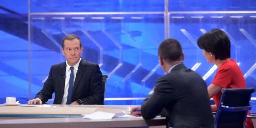 Εξαιρετικά σημαντικές δηλώσεις – Για διπλωματικά κόλπα μιλά ο Μεντβέντεφ – Αναφορές σε ψευδοκράτος