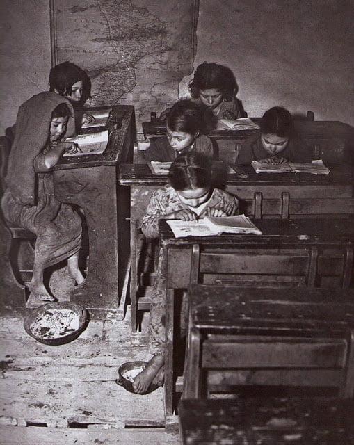 Καλαβρία, δημοτικό σχολείο 1948