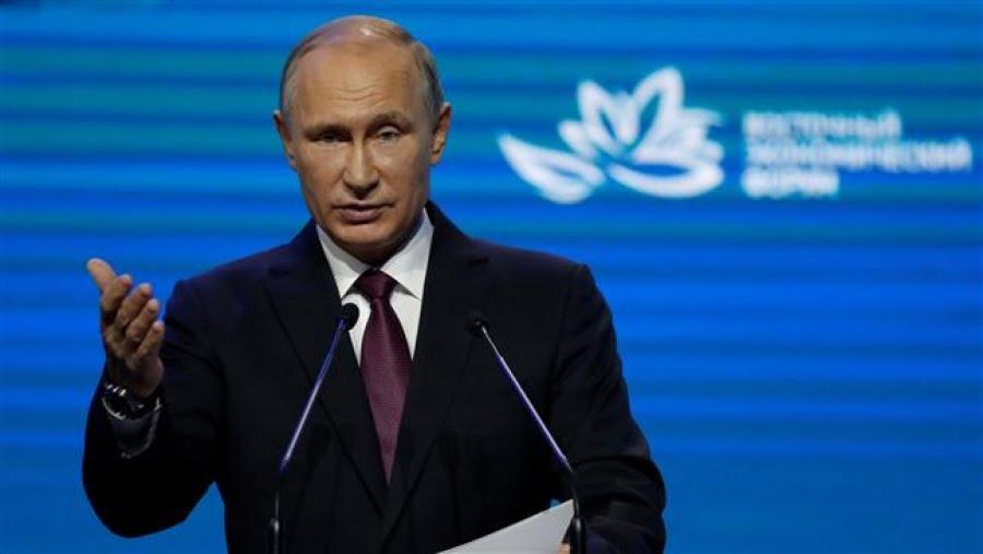 Πούτιν: Η Β. Κορέα κάνει πολλά βήματα για την αποπυρηνικοποίηση της, οι ΗΠΑ δεν ανταποκρίνονται