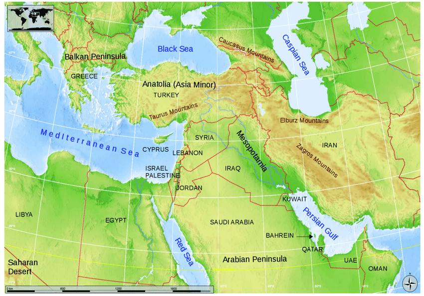 Φανταστείτε έναν νέο χάρτη της Μέσης Ανατολής-Άρθρο του 2013- Πόσο κοντά έφτασαν οι ΗΠΑ στα αρχικά τους σχέδια;