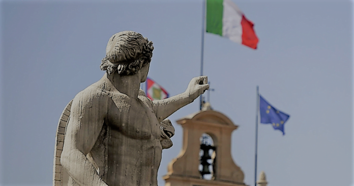 ΚΟΡΩΝΟΪΟΣ: Μαζική υποστολή της σημαίας της ΕΕ στην Ιταλία!!!