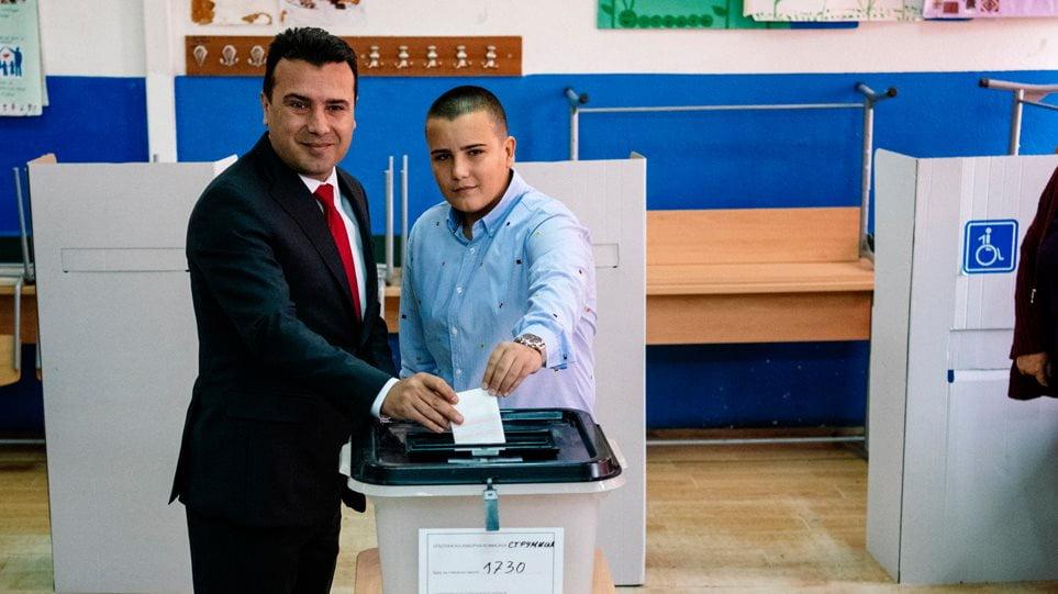 Δημοψήφισμα στα Σκόπια: «Ναι» από το 91% όσων ψήφισαν