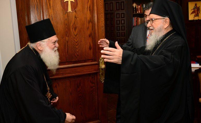 Με έντονο άρωμα Ουκρανίας και Ρωσίας η επίσκεψη του Γέροντα Εφραίμ στην Ουάσιγκτον