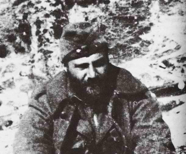 Ο Ανθυπολοχαγός Οδυσσέας Αλεπουδέλης (Ελύτης) στο Αλβανικό Μέτωπο