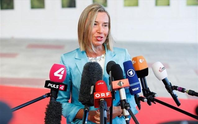Φ. Μογκερίνι: Μοναδική ευκαιρία συμφιλίωσης η Συμφωνία των Πρεσπών