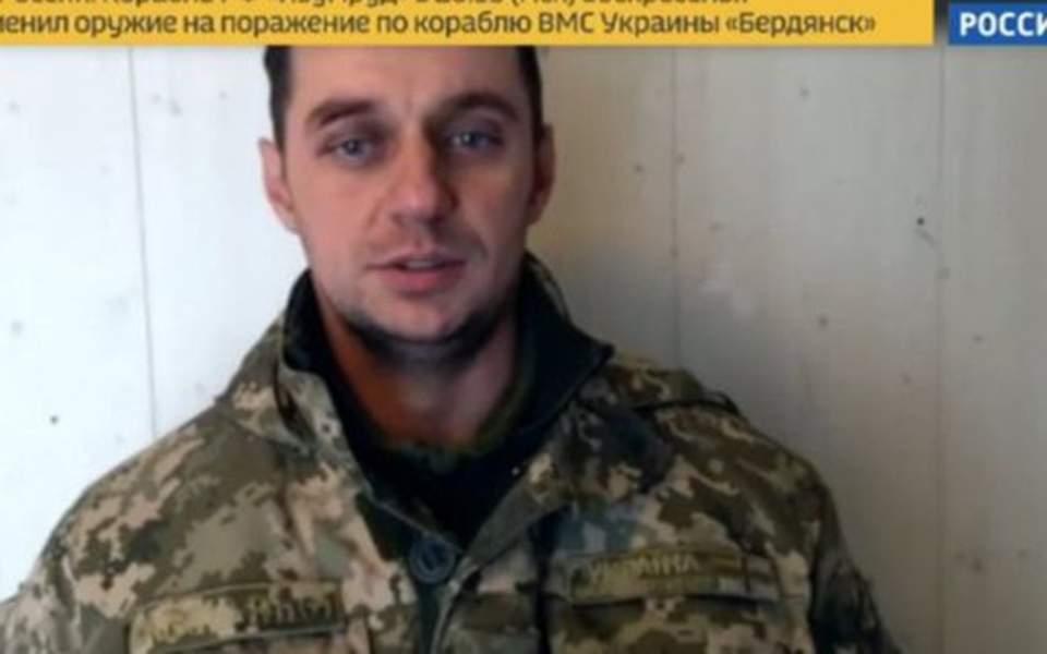«Δηλώσεις» των αιχμάλωτων Ουκρανών μετέδωσε η ρωσική τηλεόραση