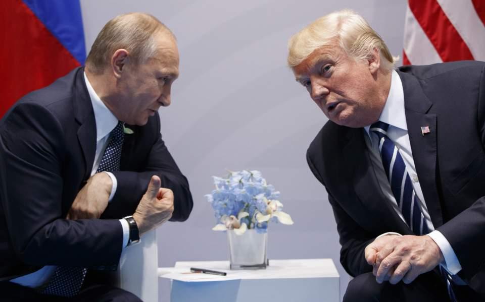 Ο Τραμπ απειλεί να ακυρώσει τη συνάντησή του με τον Πούτιν στην G20 εξαιτίας της Ουκρανίας